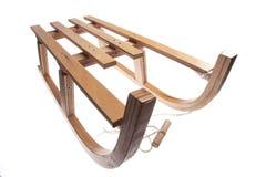 Slitta di legno Immagini Stock Libere da Diritti