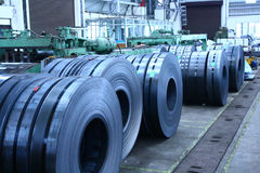 Slitted Ringe gespeichert für Herstellung   Stockfotografie