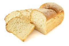 Slived wheaten bread Royalty Free Stock Photos