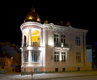 Sliven library. The building of city library of Sliven, Bulgaria Royalty Free Stock Photography