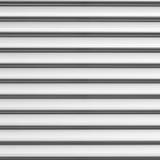Sliver aluminium metal plate texture Stock Images