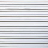 Sliver corrugated metal Stock Photography