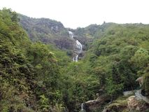 Sliver Falls in SaPa stock photography