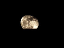Sliver of the moon Royalty Free Stock Photo