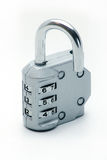 Sliver padlock. Image of sliver padlock on a white background Royalty Free Stock Images