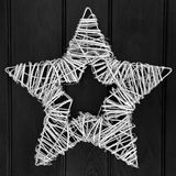 Sliver Star Wreath Royalty Free Stock Image