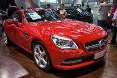 SLK-класс автомобиля спорт Benz Стоковое Изображение