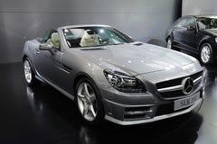 Slk 350 de benz de Mercedes Photographie stock libre de droits