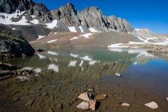 Sloan湖 免版税图库摄影