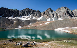 Sloan湖 库存照片