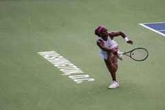 Sloane Stephens at the Citi Open 2015 Royalty Free Stock Photo