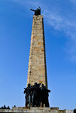 Sloboda monument on Fruska Gora Royalty Free Stock Images