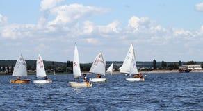 Slobozhanshina Sailing Cup Royalty Free Stock Photos