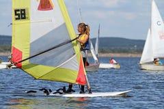 Slobozhanshina Sailing Cup Stock Photos