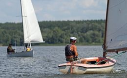 Slobozhanshina Sailing Cup Royalty Free Stock Photo
