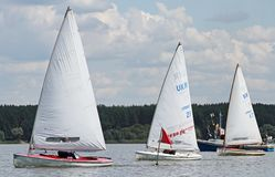 Slobozhanshina Sailing Cup Stock Photo