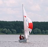 Slobozhanshina Sailing Cup Royalty Free Stock Photography