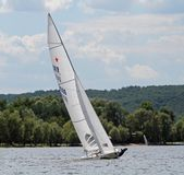 Slobozhanshina Sailing Cup Royalty Free Stock Photo