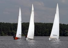 Slobozhanshina Sailing Cup Stock Photography