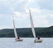 Slobozhanshina Sailing Cup Royalty Free Stock Images