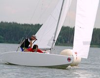Slobozhanshina Sailing Cup Stock Photo