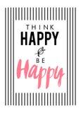Slogan graphic print Royalty Free Stock Photo