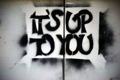 Slogan son jusqu'à vous illustration libre de droits