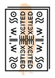 Slogan,text print Stock Photo