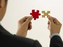 slolve dismatching puzzle Royalty Free Stock Image