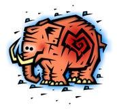 Slon rosado Imagen de archivo