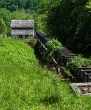 "Slone's段磨房†""探索公园,罗阿诺克,弗吉尼亚,美国 免版税图库摄影"