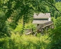 "Slone's段磨房†""探索公园,罗阿诺克,弗吉尼亚,美国 免版税库存照片"