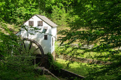 "Slone's-Mahlgut-Mühle-†""erforschen Park, Roanoke, Virginia, USA Lizenzfreie Stockfotografie"
