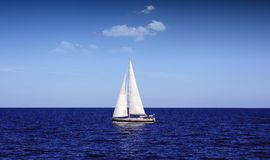 Sloop Royalty Free Stock Images