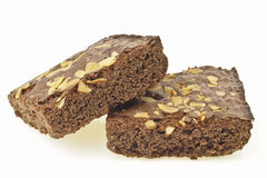 Slope brownies Royalty Free Stock Photography