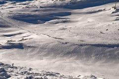 Slope in Deux Alpes. France Royalty Free Stock Image