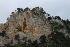 Slope of Gebirgsvereinssteig, Hohe Wand Stock Photo
