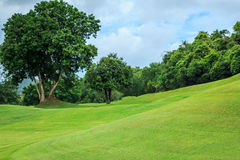 Slope Hill Golf Course Royalty Free Stock Image