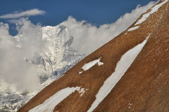 Slope in Himalayas Royalty Free Stock Image