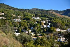 Slope mijas Royalty Free Stock Photos