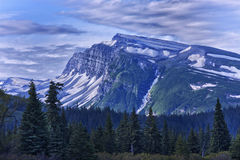 Slope Mountain. Lake Clark National Park and Preserve, Alaska, July, 2011 royalty free stock photos