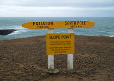Slope point Royalty Free Stock Images