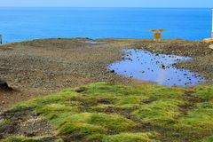 Slope Point Royalty Free Stock Image
