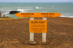 Slope Point Stock Photography