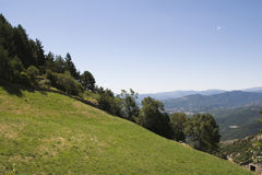 Slope in Pyrenees Stock Photo