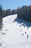 Slope on ski resort Stock Photo