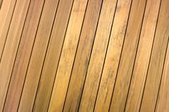 Slope teak wood line Stock Photos