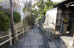 Slope at Tennoji Nanasaka in Osaka Royalty Free Stock Photos