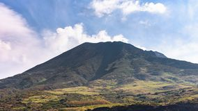 Slope of the volcano Stromboli. Which is in continuous eruption, Aeolian Islands, Italy stock photos