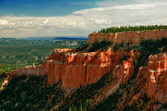 Slopes of Bryce canyon Stock Images